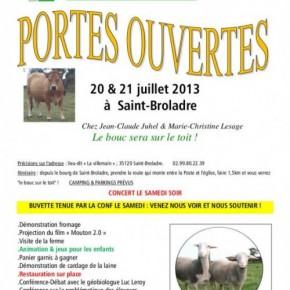 Contre le bouclage électronique obligatoire des moutons et brebis, les 20 et 21 juillet à Saint-Broladre