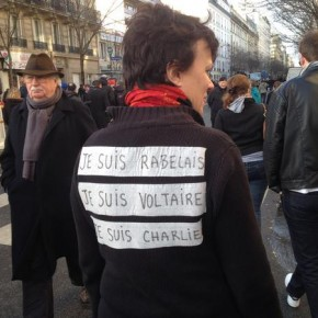 """"""" Je suis Rabelais, je suis Voltaire, je suis Charlie """". N°667"""