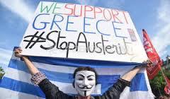 Solidarité avec le peuple en Grèce !