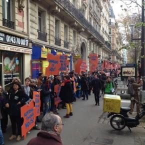 Reportage sur la mobilisation citoyenne à la COP 21.