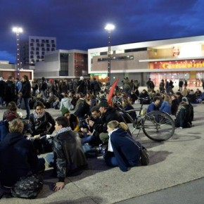 Reportage sur la Nuit Debout du 40 mars à Rennes.