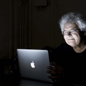 """François Bon, """"20 ans de connexion internet""""."""