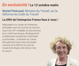 """""""La DRH de l'entreprise France face à vous !"""" N°806"""