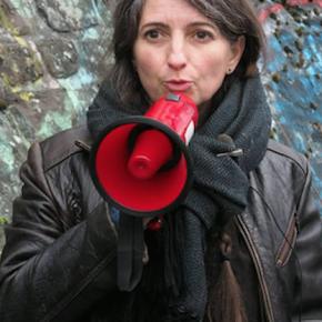 Sandrine Cnudde, « artiste voyageuse ».