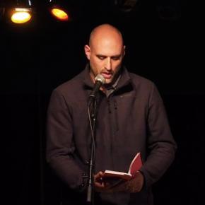 """Armand Dupuy, Marc Dugardin, """"poème, passant""""."""