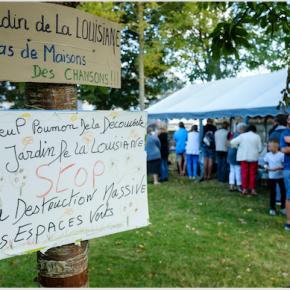 Saint-Malo. « Sauvons le Jardin de la Louisiane ».